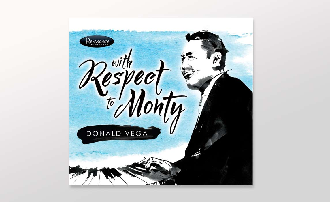 Donald Vega Monty Alexander - Latest CD album cover Illustrations - Ink Illustration by Eri Griffin
