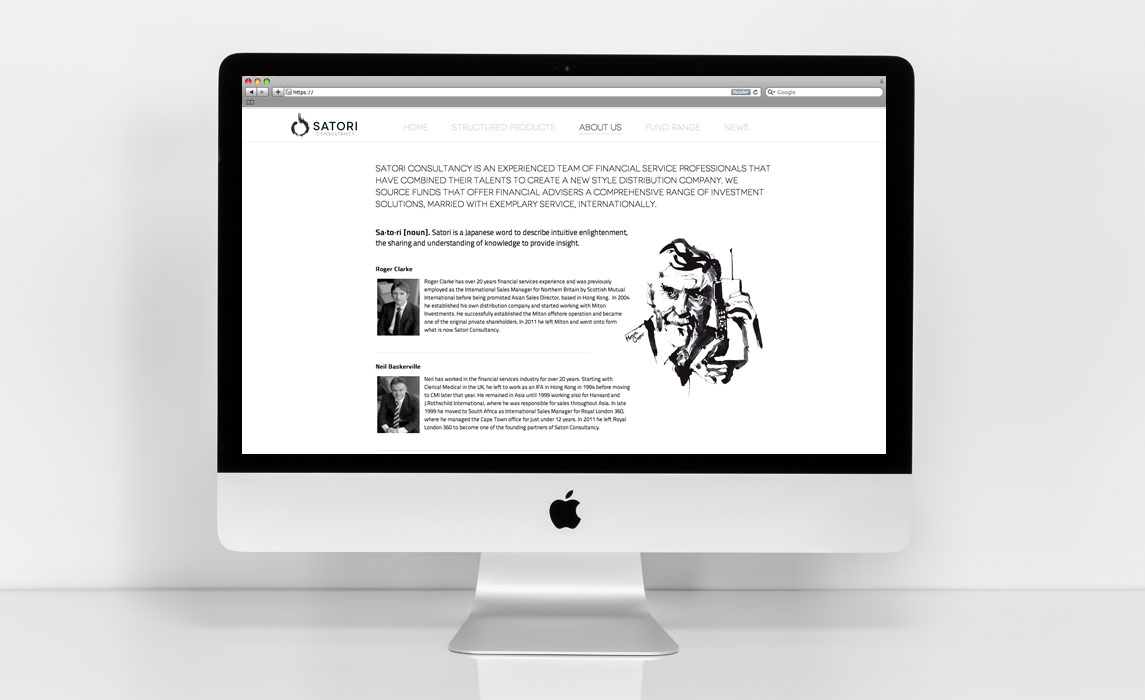 Latest website commissioned Illustrations - Ink Illustration by Eri Griffin